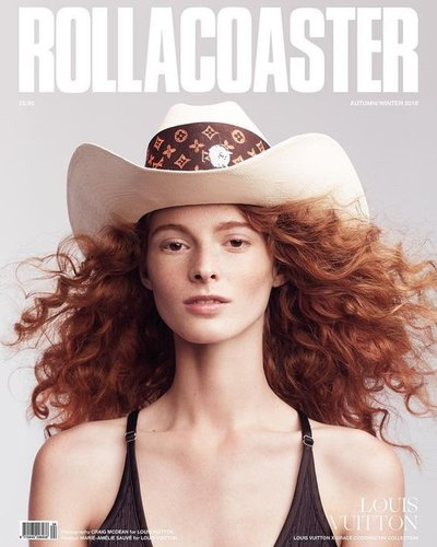Clementine Balcaen - Ph: Craig McDean for Rollacoaster F/W 18