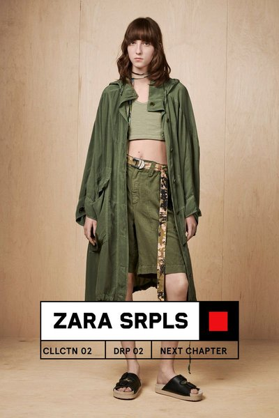 Evelyn Nagy - Ph: Craig McDean for Zara Spring 2019