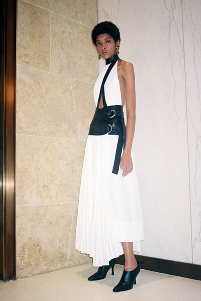 Licett Morillo - Ph: Pierre-Ange Carlotti for Proenza Schouler Fall 2019