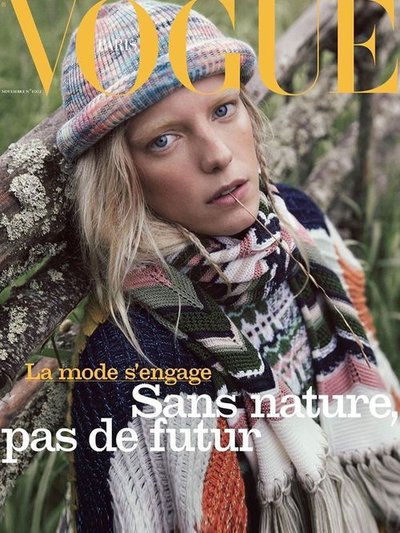 Erika Linder - Ph: Mikael Jansson for Vogue Paris November 2019