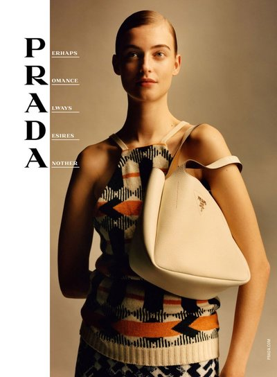 Berit Heitmann - Ph: Jamie Hawkesworth for Prada S/S 20