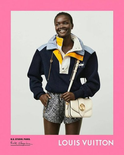 Akon Changkou - Ph: Nicolas Ghesquiere for Louis Vuitton F/W 20