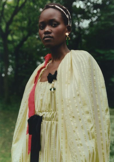 Caren Jepkemei - Ph: Ina Lekiewicz for Erdem S/S 21