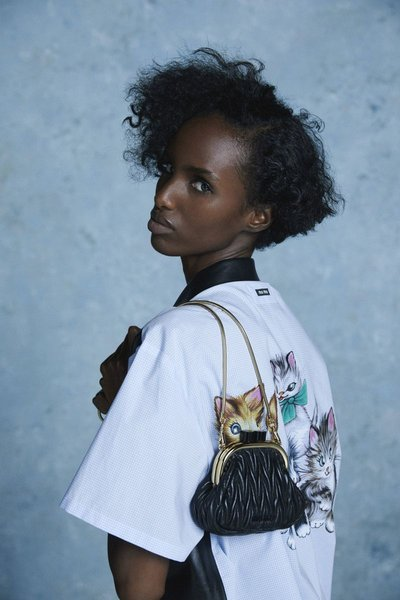 Bibi Abdulkadir - Ph: Rasharn Agyemang for Miu Miu Resort 2021 Lookbook