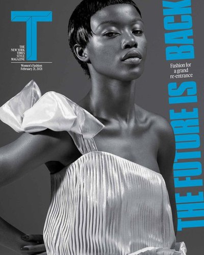 Precious Kevin - Ph: Mert Alas and Marcus Piggot for The New York Times Style Feb 2021 Cover