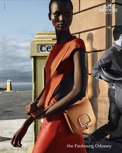 Amar Akway - Ph: Nathaniel Goldberg for Hermes S/S 21