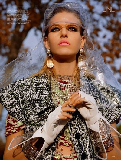 Line Kjaergaard - Ph: Alasdair McLellan for Love Magazine S/S 18
