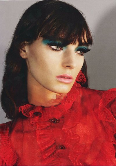 Ansley Gulielmi - Ph: Mert and Marcus for Vogue Italia April 2017