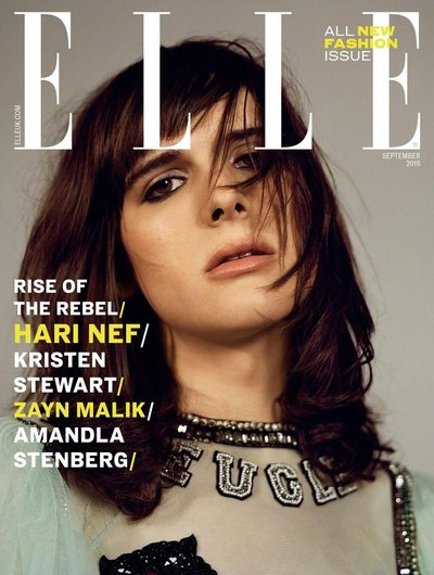 Hari Nef - Ph: Bjarne Jonasson for Elle UK