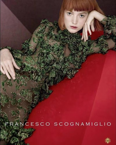 Lou Schoof - PH: Inez and Vinoodh for Francesco Scognamiglio F/W 16