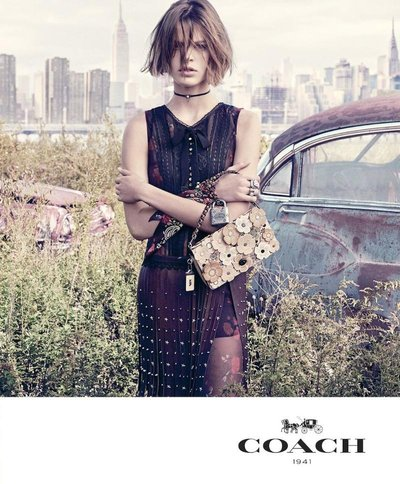 Cara Taylor - Ph: Steven Meisel for Coach S/S 17
