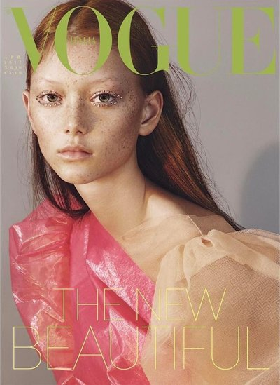 Sara Grace Wallerstedt - Ph: Mert and Marcus for Vogue Italia April 2017 Cover