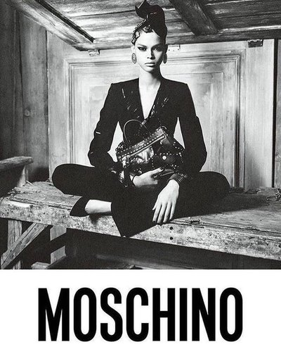 Hiandra Martinez - Ph: Steven Meisel for Moschino for Fall 2017