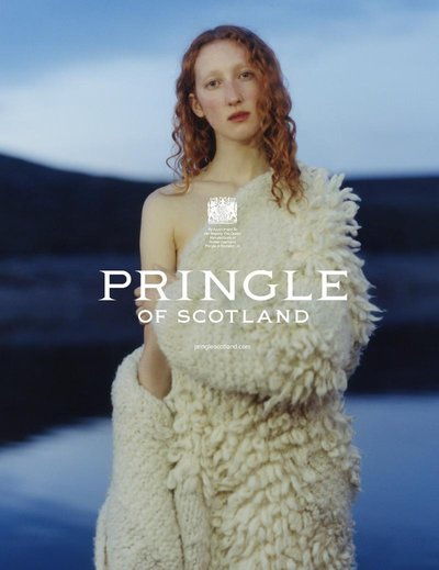 Lorna Foran - Ph: Harley Weir for Pringle F/W 17