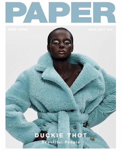 Duckie Thot - Ph: Paola Kudacki for Paper Fall 2017