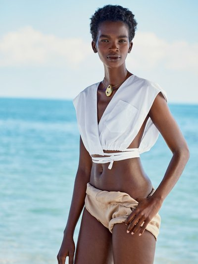Aamito Lagum - Ph: Patrick Demarchelier for Allure April 2017