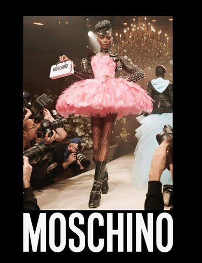 Aube Jolicoeur - Ph: Steven Meisel for Moschino S/S 18