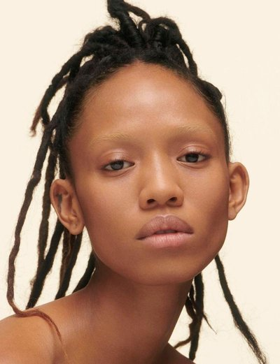 Adesuwa Aighewi - Ph: Charlotte Wales for Marc Jacobs Beauty 2018
