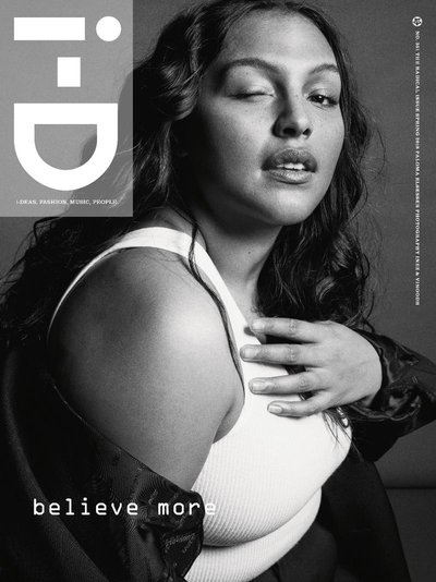 Paloma Elsesser - Ph: Inez and Vinoodh for i-D Spring 2018