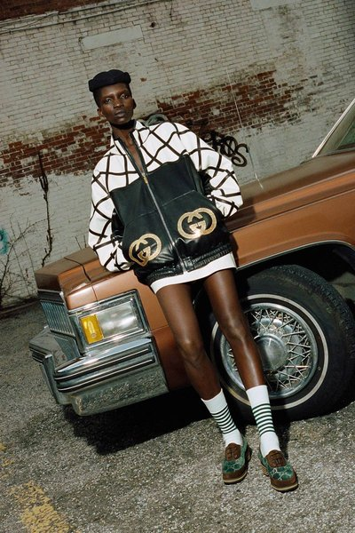 Achok - Ph: Ari Marcopoulos for Gucci x Dapper Dan 2018