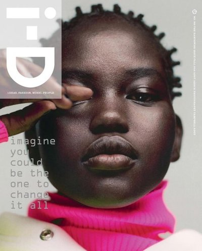 Adut Akech - Ph: Campbell Addy for i-D Fall 2018