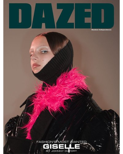 Giselle Norman - Ph: Johnny Dufort for Dazed Fall 2018