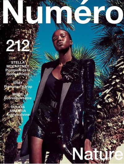 Ajok Madel - Ph: Sofia and Mauro for Numero April 2020