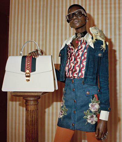 Achok - Ph: Glen Luchford for Gucci Pre Fall 2017