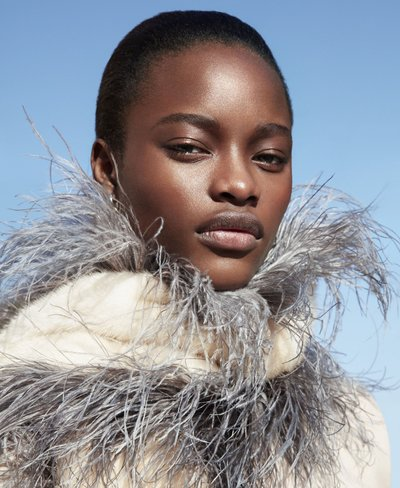 Mayowa Nicholas - Ph: Camilla Akrans for Harper's Bazaar Feb 2017