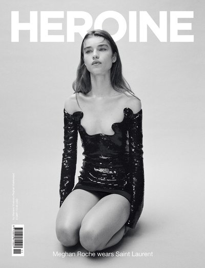 Meghan Roche - Ph: Mariano Vivanco for Heroine Magazine F/W 19 Cover