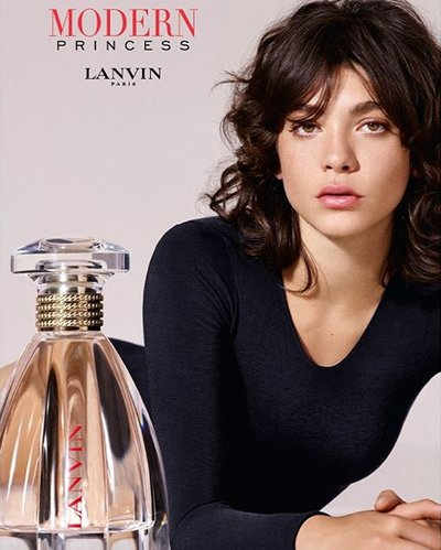 Steffy Argelich - Ph: for Lanvin Modern Princess 2017