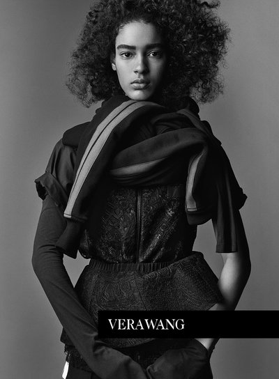 Luisana Gonzalez - Ph: Patrick Demarchelier for Vera Wang S/S 17
