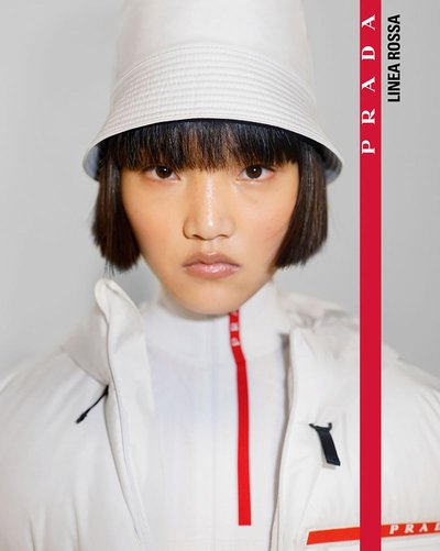 Pan Haowen - Ph: Nick Waplington for Prada Linea Rossa Fall 2019