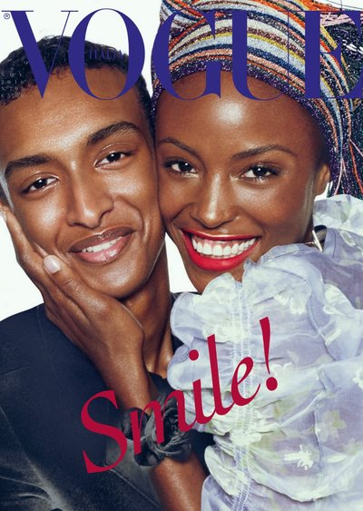 Alicia Burke - Ph: Steven Meisel for Vogue Italia November 2016 Cover