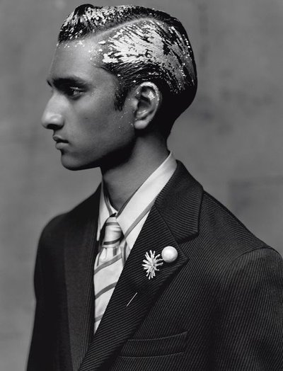 Jeenu Mahadevan - Ph: Paolo Roversi for L'Uomo Vogue October 2018