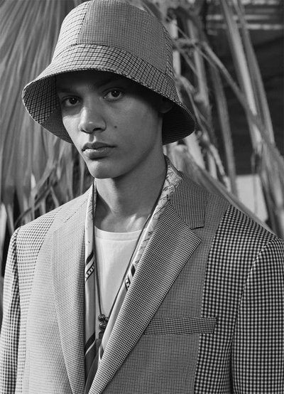 Simon Bornhall - Ph: Craig McDean for Zara Man S/S 19