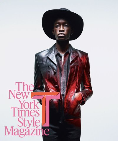 Cheikh Kebe - Ph: Willy Vanderperre for NY Times Style Magazine Spring 2019