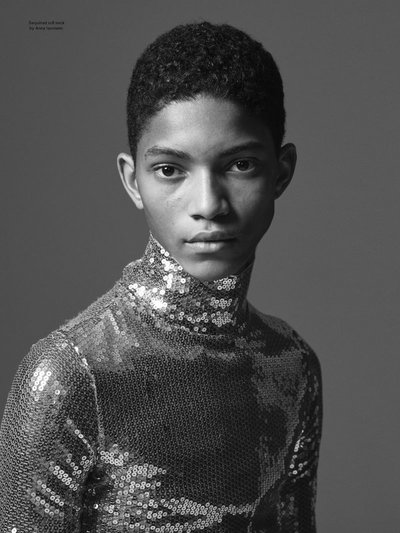 Jeranimo van Russel - Ph: Ethan James Green for Another Magazine S/S 19