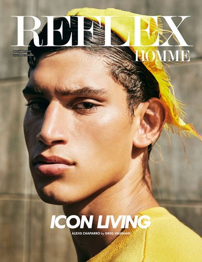 Alexis Chaparro - Ph: Greg Vaughan for Reflex Homme Sept 2019