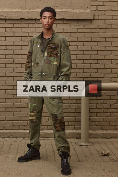 Jecardi Sykes - Ph: Craig McDean for Zara S/S 20