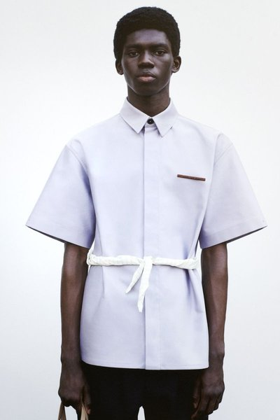 Ottawa Kwami - Ph: Tim Elkaïm for Jil Sander S/S 21 Lookbook