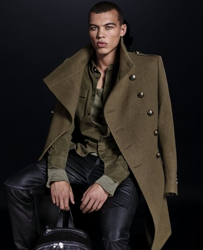 Dudley O'Shaughnessy - Ph: for Balmain x H&M 2015 Lookbook