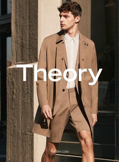 Hannes Gobeyn - Ph: Daniel Riera for Theory S/S 16