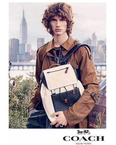 Erik van Gils - Ph: Steven Meisel for Coach S/S 17