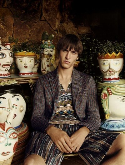 Tim Dibble - Ph: Harley Weir for Missoni S/S 17