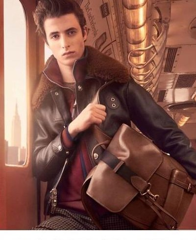 Oscar Kindelan - Ph: Steven Meisel for Coach F/W 17