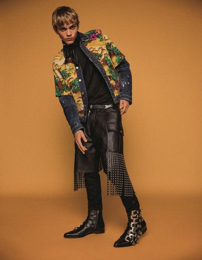 Jose Luis Lucero - Ph: Inez and Vinoodh for Dsquared2 S/S 18