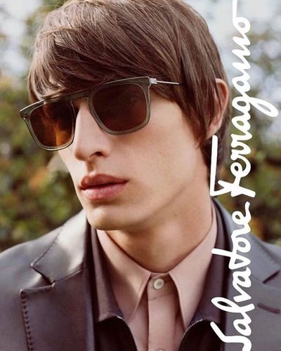 Edoardo Sebastianelli - Ph: Harley Weir for Salvatore Ferragamo F/W 18