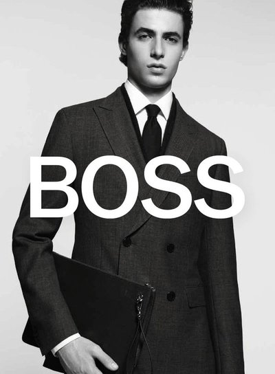 Oscar Kindelan - Ph: David Sims for Boss F/W 18