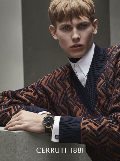 Oliver Houlby - Ph: Ralph Mecke for Cerruti F/W 18
